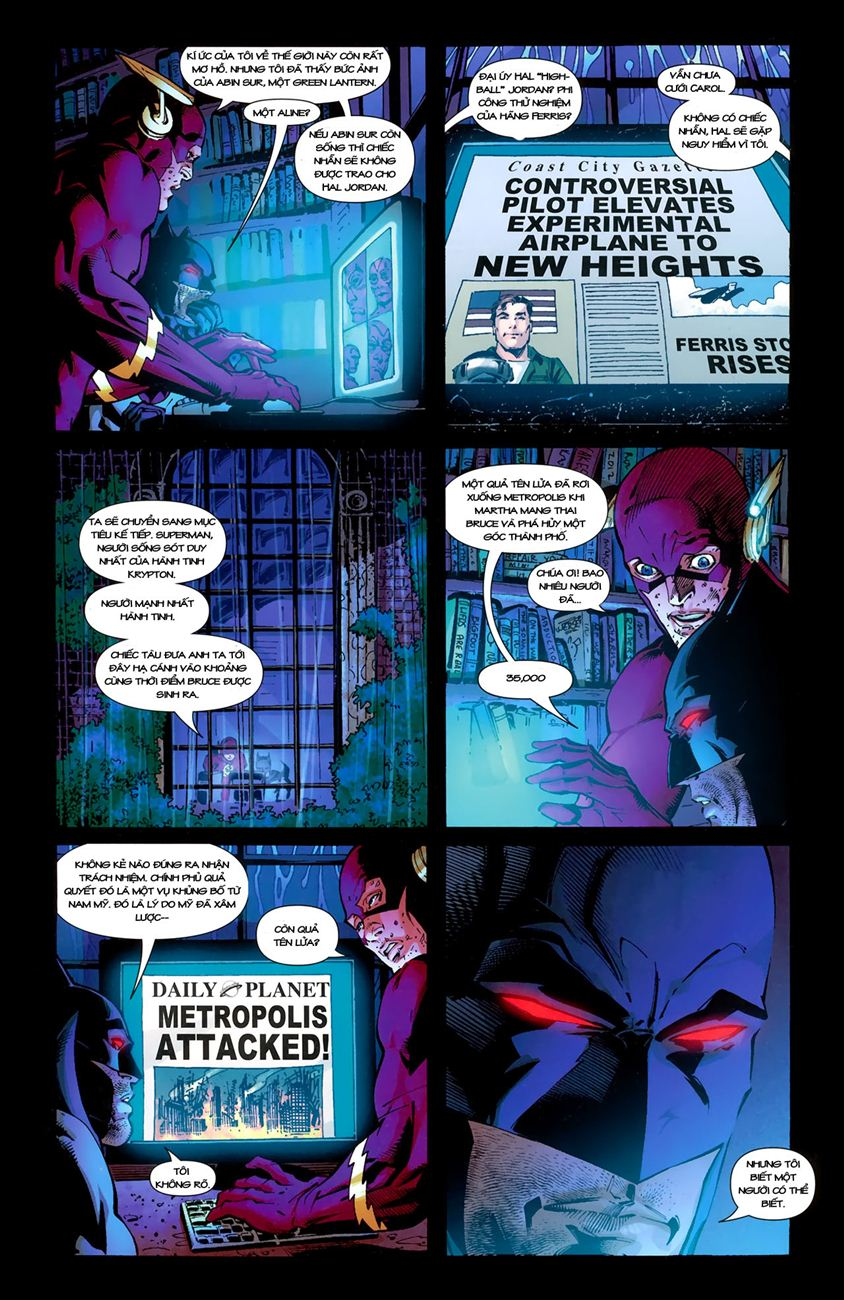 FlashPoint chap 3 - Trang 18
