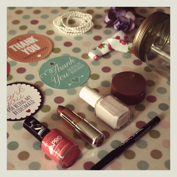 Bridesmaids Make Up Gifts Henry and Flora Wedding Stationery