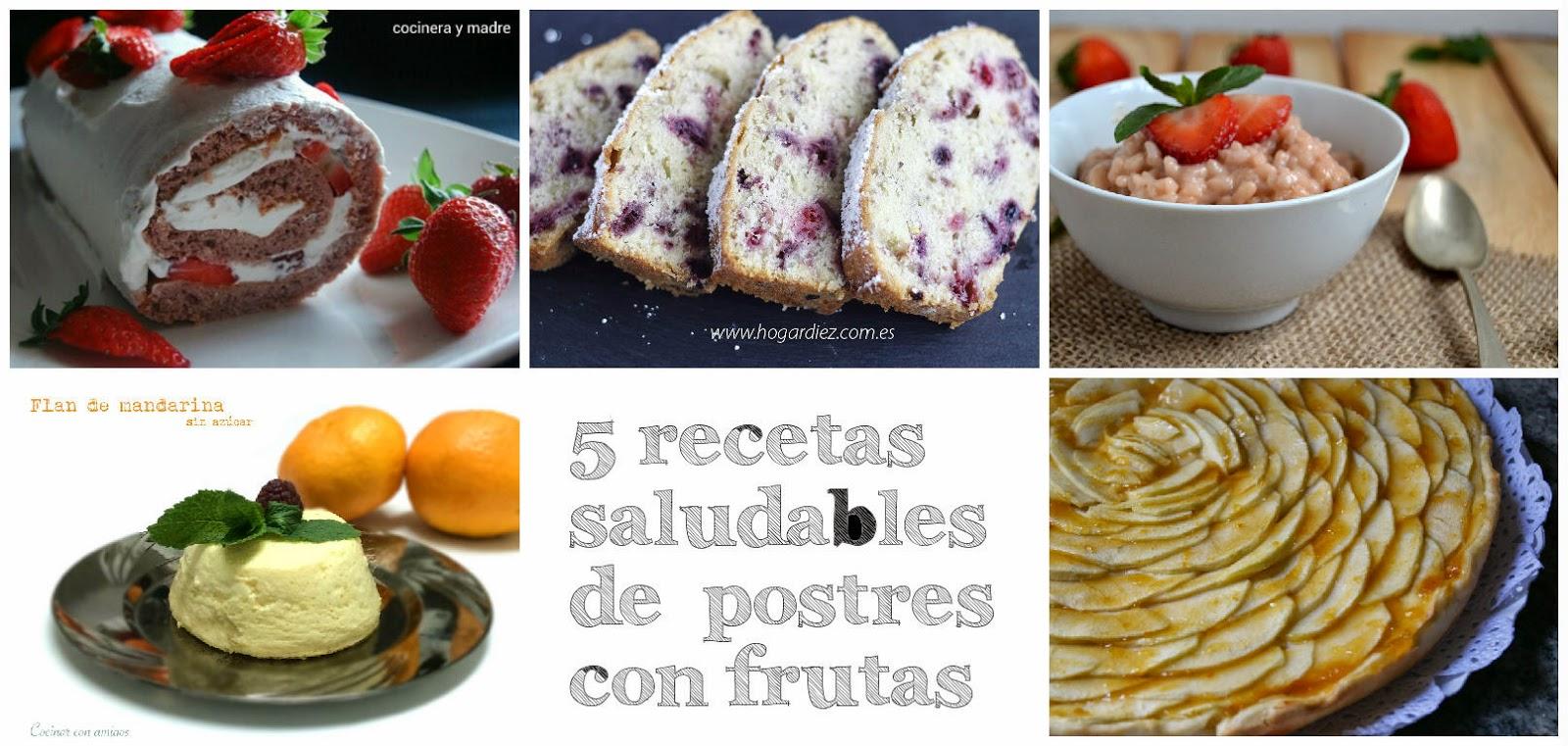 5 recetas saludables de postres con frutas - Postres con frutas faciles ...