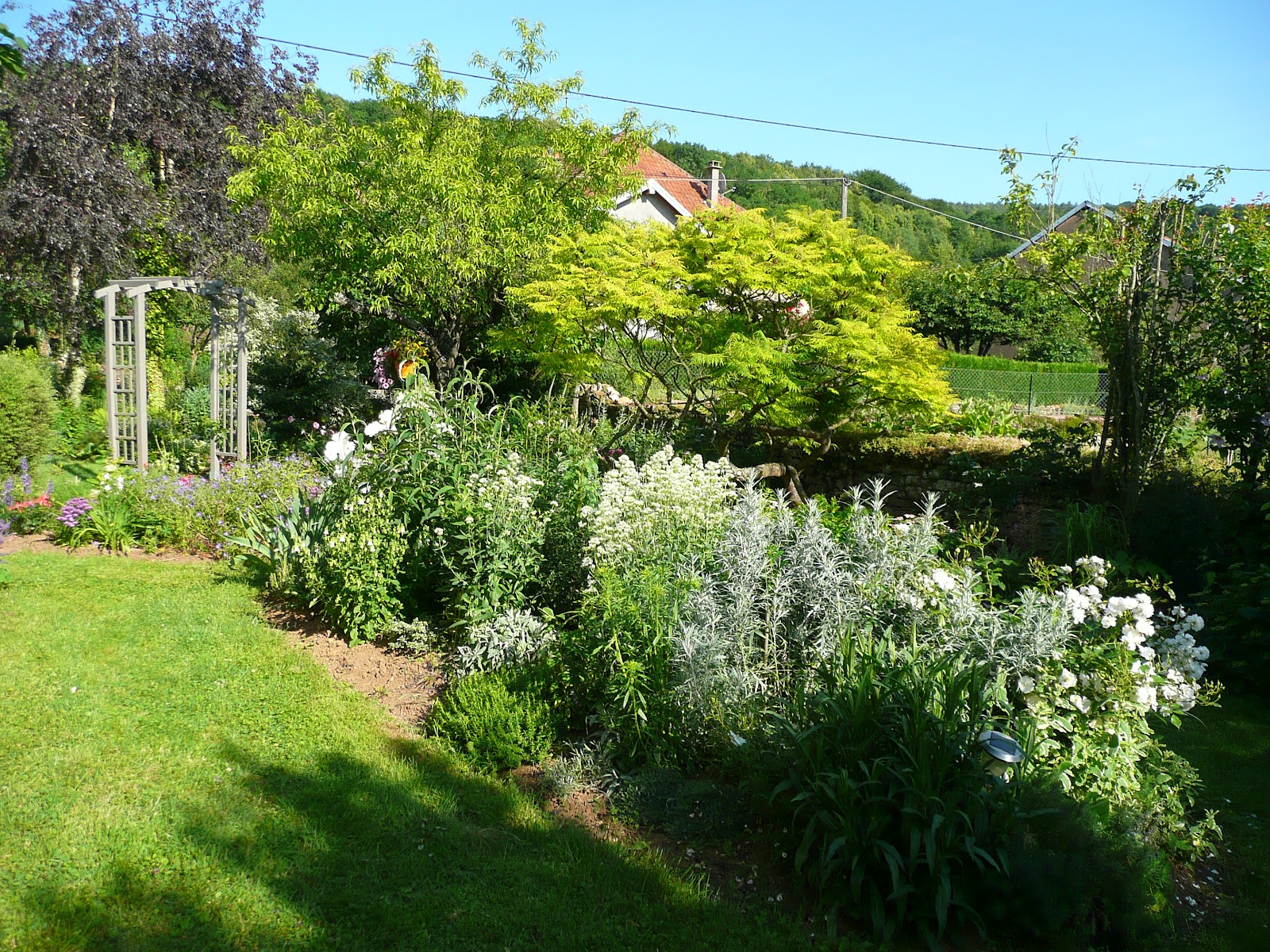 Notre jardin secret un week end en franche comte le for Agrementer son jardin