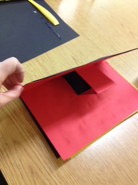 How To Make A Book Cover Out Of Construction Paper ~ Kinder journey how to make a pop up book