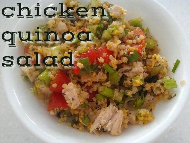 www.alysonhorcher.com, I could talk food all day, I love good food, healthy food, clean food, clean eating recipes, clean chicken dishes, clean lunch ideas, meal planning, chicken quinoa salad, quinoa, lunch on the go, summertime salads