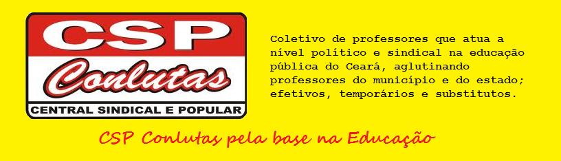 CSP-CONLUTAS pela base na Educação