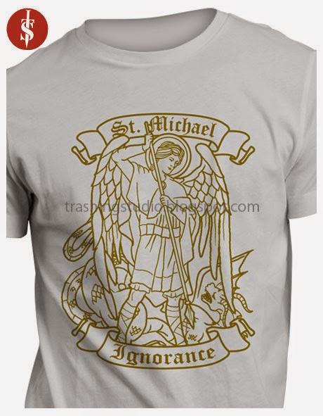 A T-shirt Design for a christian school.