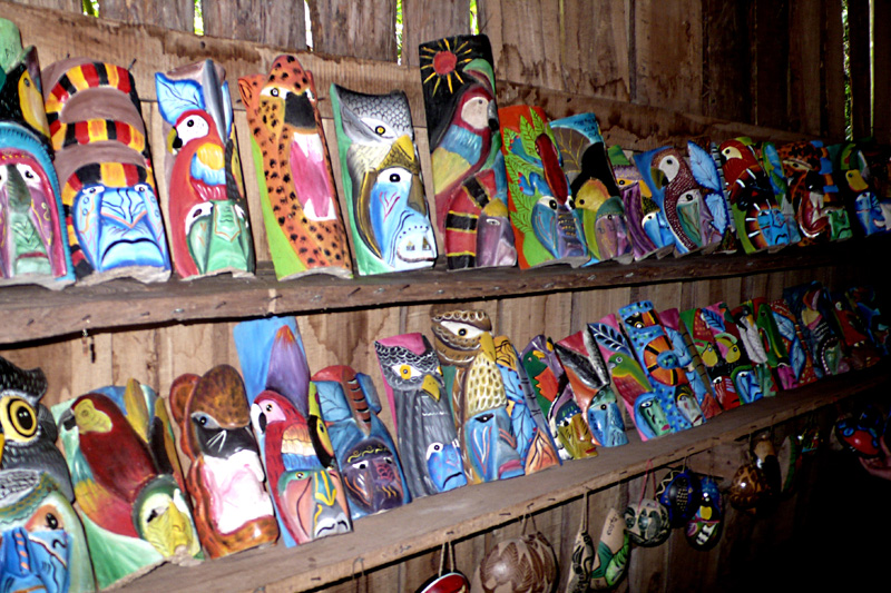 josi in costa rica guatuso maleku ind genas On costa rica arts and crafts