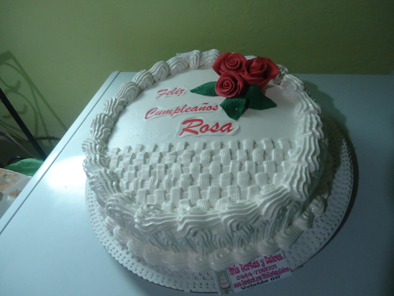 Mis Tortas y Dulces : Torta decorada con merengue