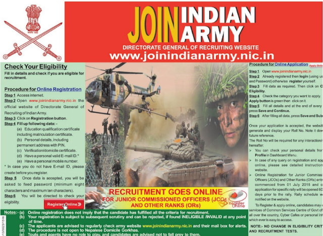 INDIAN ARMY 2015