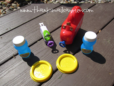 Chuggington bubble toys