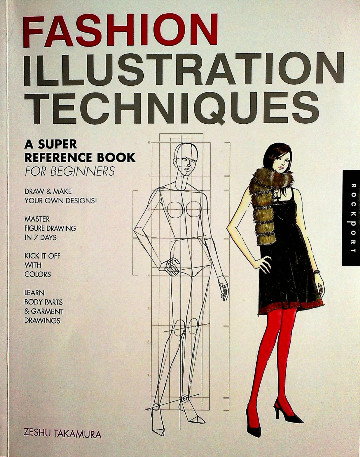 Fashion drawing for beginners book