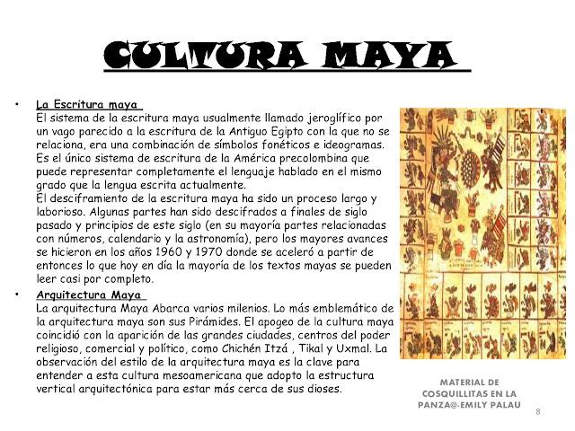 Apoyo escolar ing maschwitzt contacto telef 011 15 for Informacion de la cultura maya