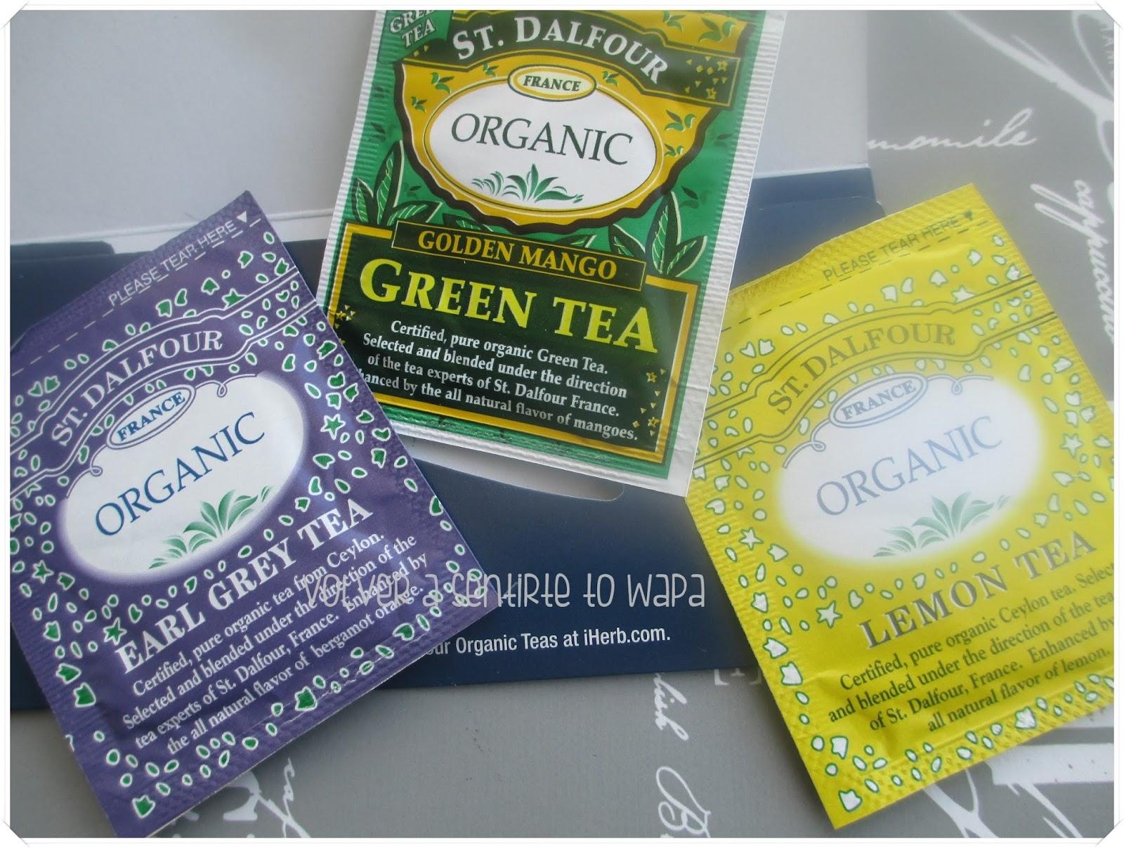 ST. DALFOUR - Organic Tea {iHerb}