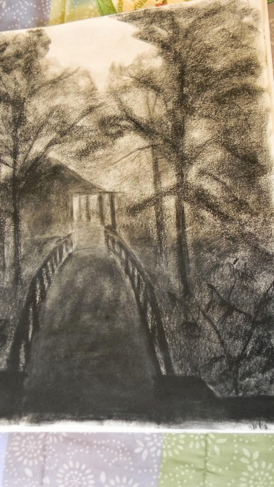 licht donker tekening