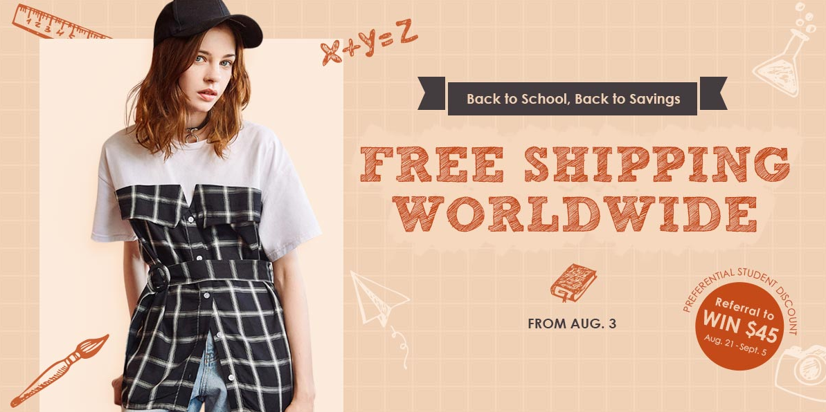 Zaful Back to School