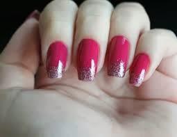 Sugestões de Unhas Decoradas com Glitter