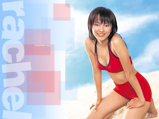 Fu Tian Ying Taiwanese Sexy Actress Sexy Swimsuit Photo 11