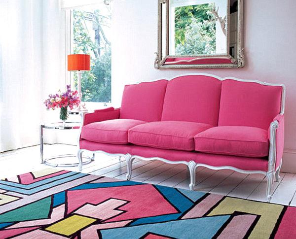 Bricolage e decora o ideias para salas decoradas em cor - Color turquesa en paredes ...