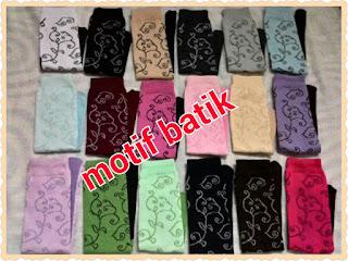 Mr.Sockim Kaos kaki Muslimah Motif Batik Banyak Pilihan Warna & Harga Dijamin Murah