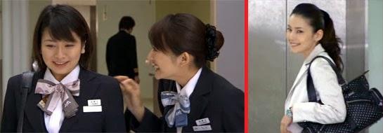 Sekiyama, Hirota and Murayama are all smiles.