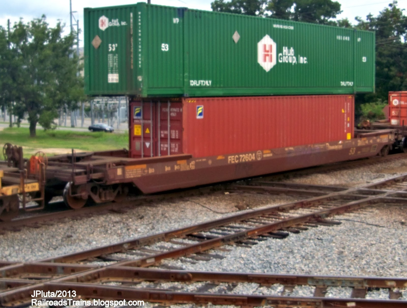 RAILROAD Freight Train...