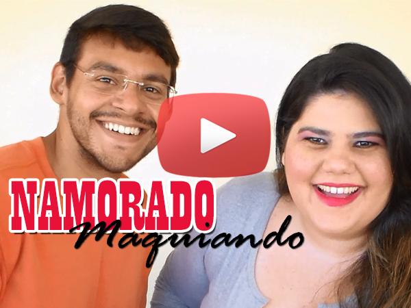 Namorado Maquiando Vídeo Youtube Maquiagem Tutorial Divertido Boyfriend does My Makeup Challenge