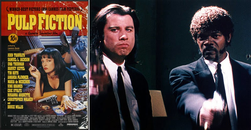 historia del cine a través de los carteles_Pulp Fiction