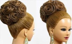 Bridal wedding updo – Hairstyles for long medium hair