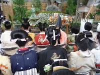 境内北側の櫛供養(久志塚)