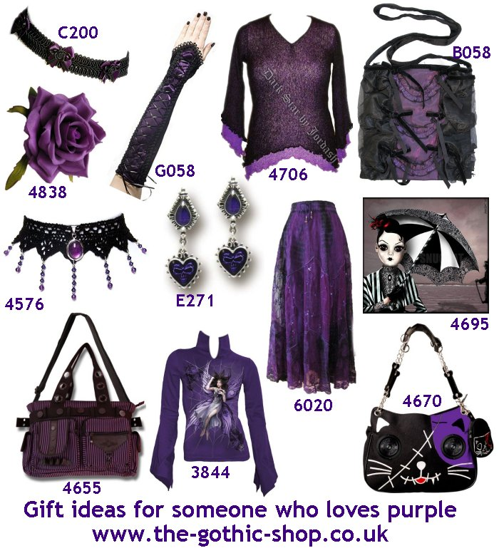 the gothic shop blog gothic gift ideas for someone who loves purple