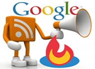 Google RSS Feedburner logos