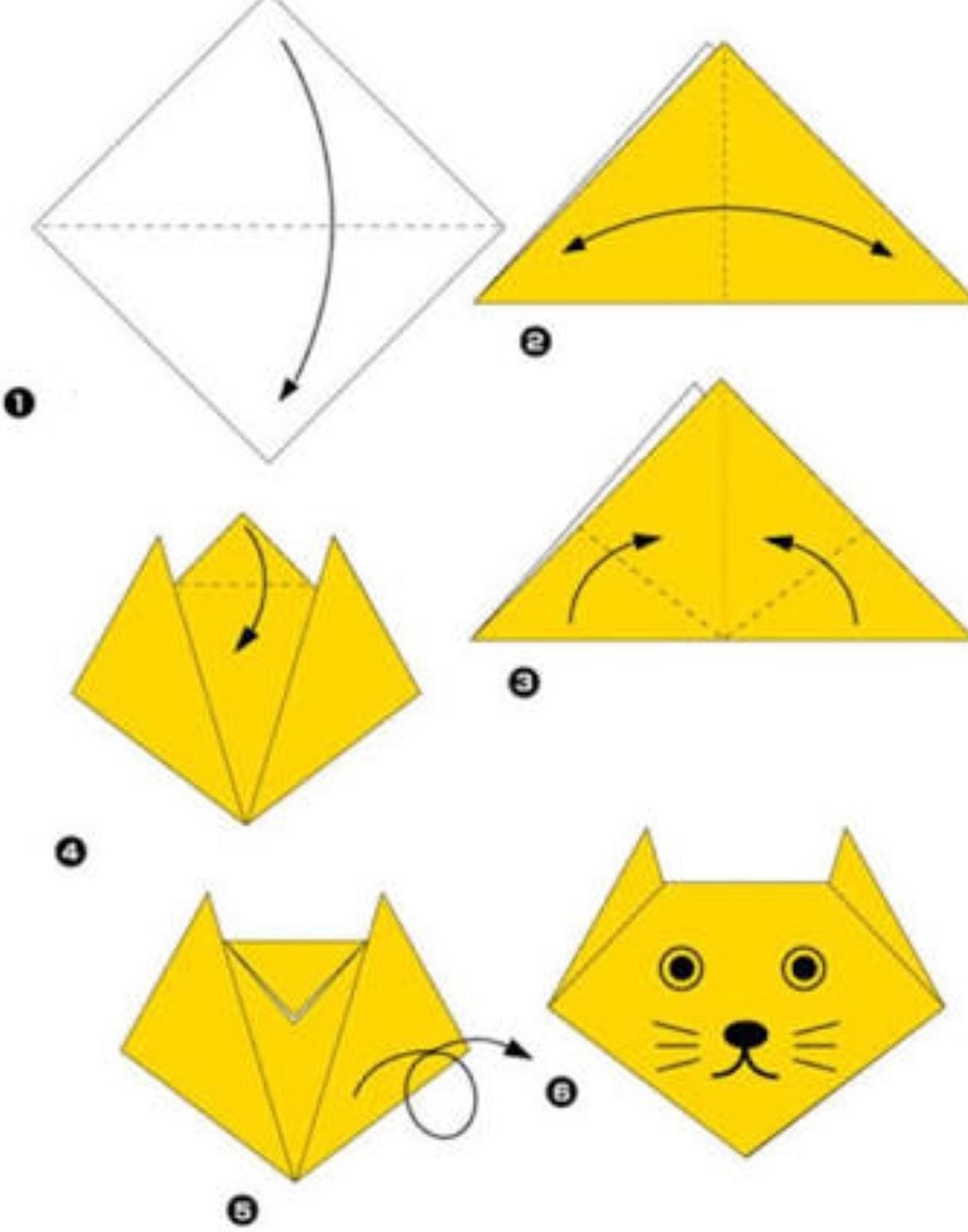 Поделки из бумаги для детей 5-6 лет, мастер-классы поэтапно