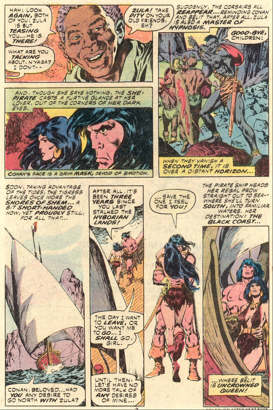 Conan the Barbarian (1970) Issue #94 #106 - English 4