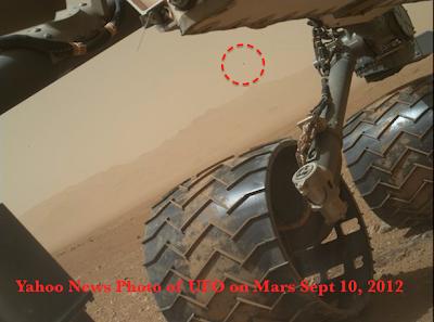 UFO filmed By NASAs Mars Curiosity