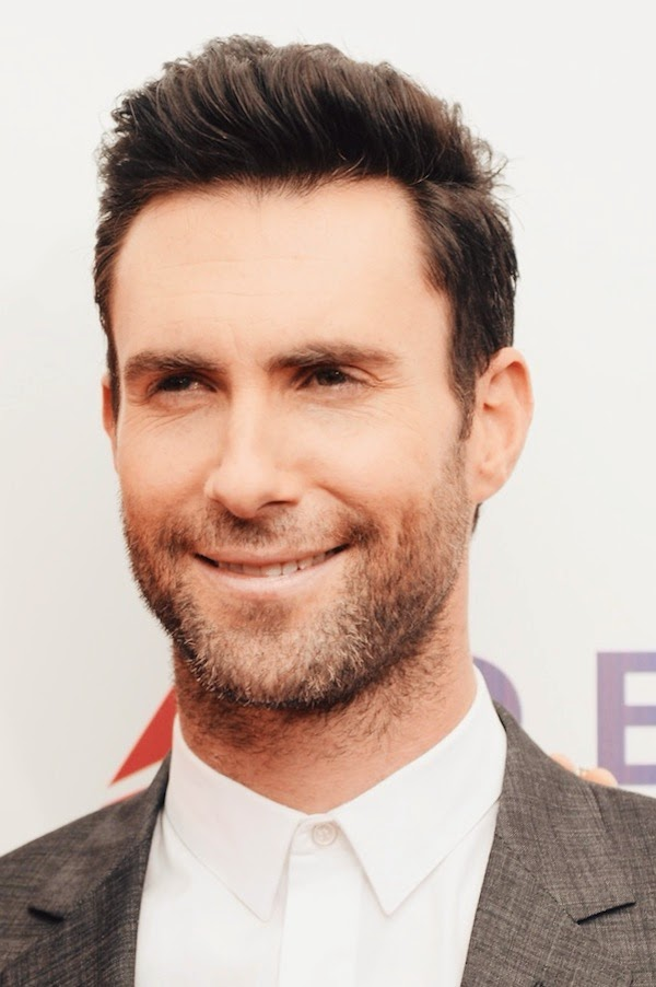 Adam Levine in Dior Homme suit - Begin Again premiere New York City.JPG