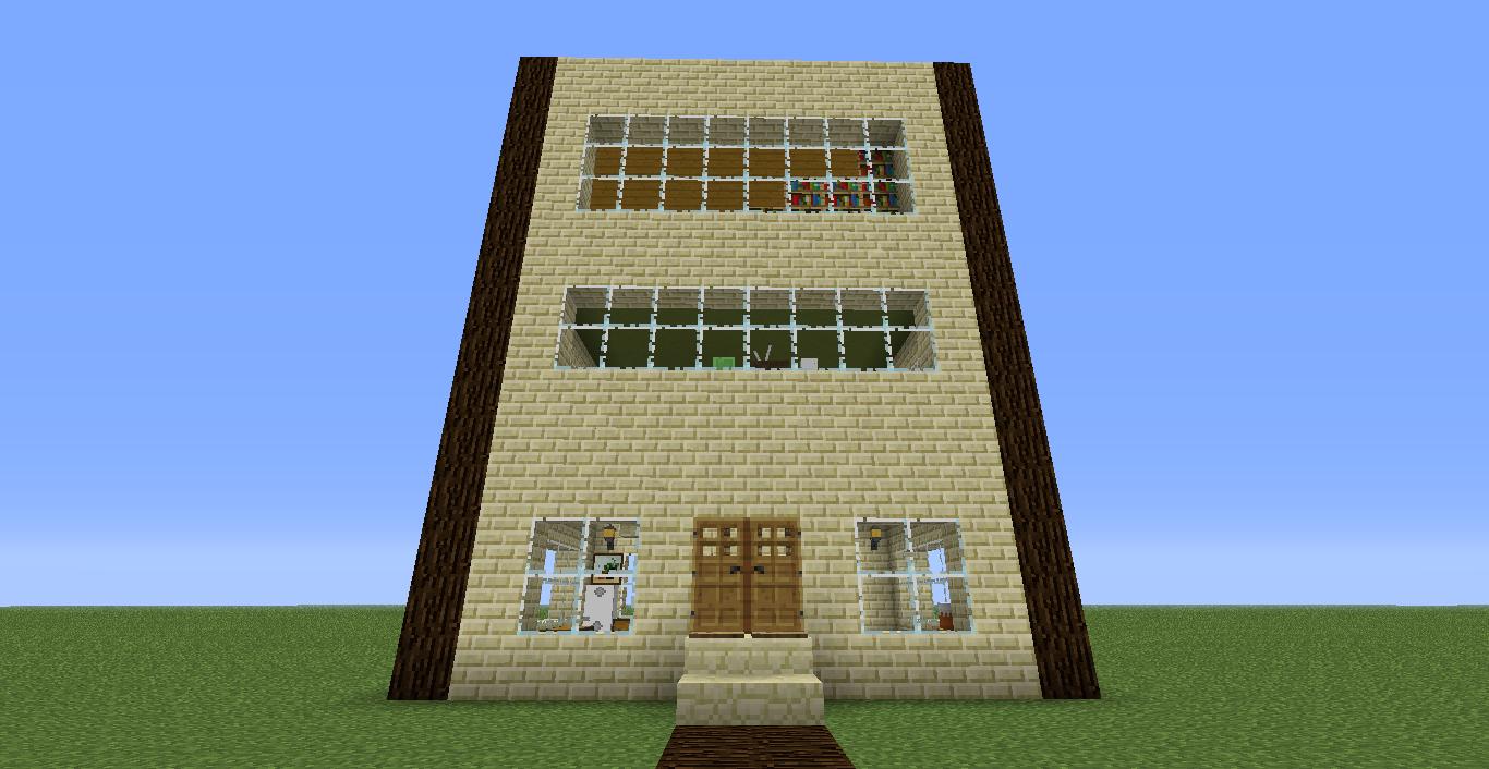 Minecraft las cuatro casas tercera casa casa 35 - Fotos de casas del minecraft ...