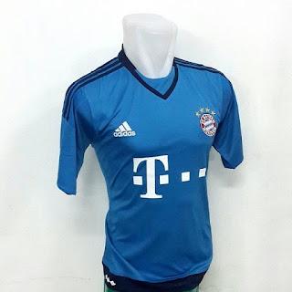 gambar photo detail baju keeper munchen Jersey Gk Bayern Munchen home terbaru musim 2015/2016 di enkosa sport toko online baju bola terpercaya