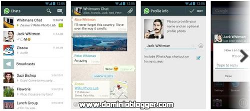 Envia SMS gratis con WhatsApp Messenger en tu Smartphone