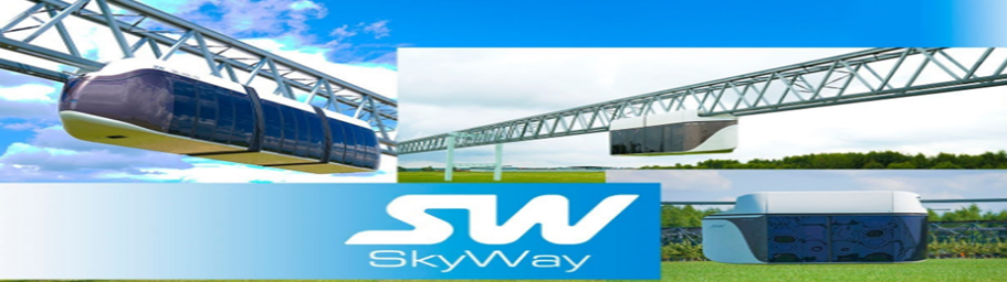SkyWay || Teknology Transportasi Terbaru