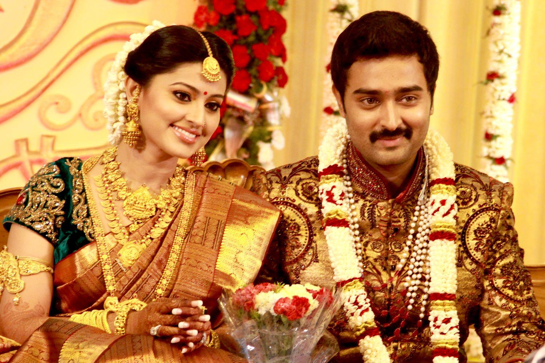 Tollywood Actress Sneha And Prasanna Wedding Reception Photos