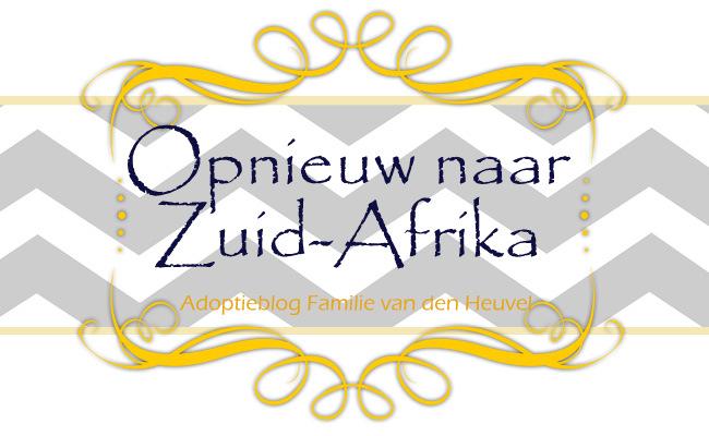Opnieuw naar Zuid-Afrika