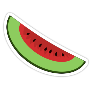 Uma melancia na Barriga