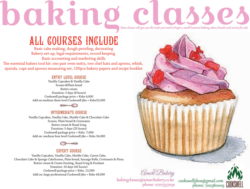 Learn How To Bake And Start Up Your Small Baking Business