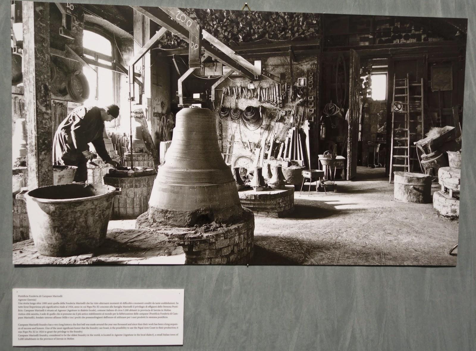 bell making Salon del Restauro Florence Italy Fortezza da Basso