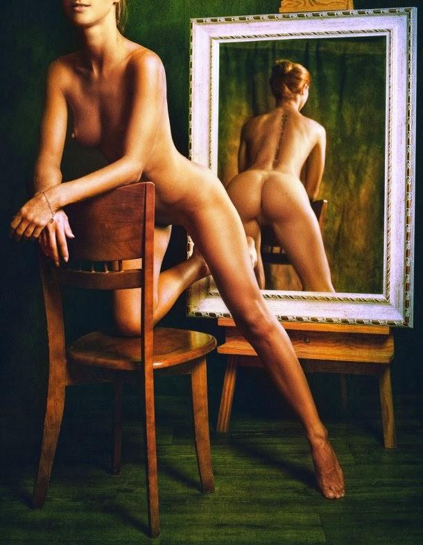 Zachar Rise fotografia mulheres modelos sensuais nudez NSFW erotismo espelhos