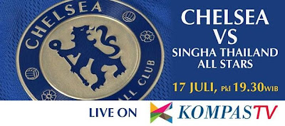Update Hasil Skor Thailand All Star Vs Chelsea, Rabu 17 Juli 2013