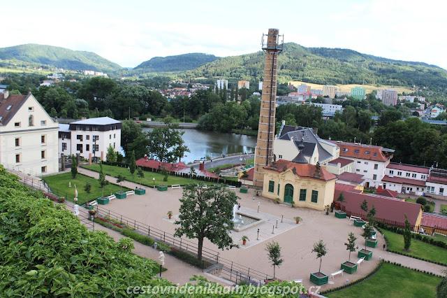 výhled na město Děčín // a view of Decin city