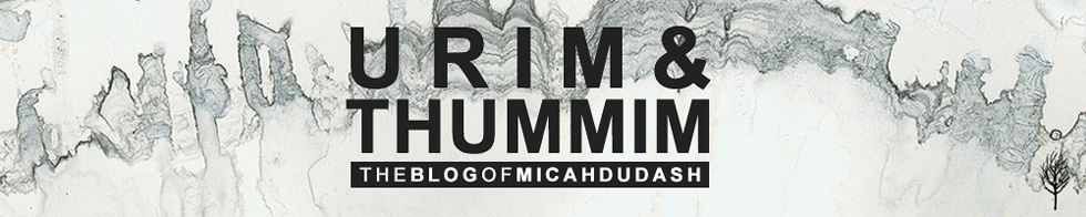 URIM and THUMMIM - The Blog of Micah Dudash