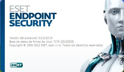 ESET Endpoint Security 5 32 & 64 bits Antivirus para empresas.Actualizacion.
