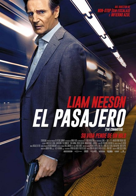 The Commuter (El Pasajero) (2018) 720p y 1080p WEBRip mkv Dual Audio AC3 5.1 ch