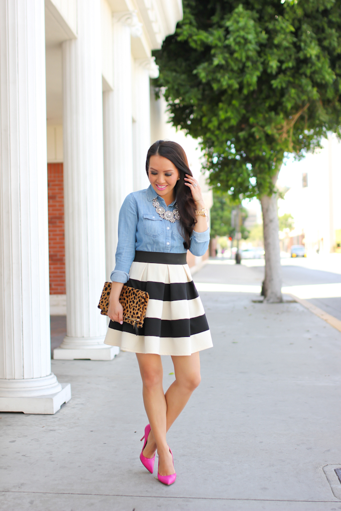 Pinspiration: Stripes and Chambray