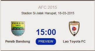RCTI Siarkan Langsung Persib vs Lao FC